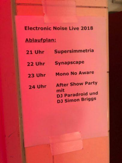 elecrtronic noise live reinraum 686