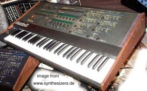 Oberheim Matrix12 synthesizer