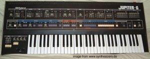 Roland Jupiter6 synthesizer