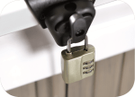 Steel Cable Cover Lock System