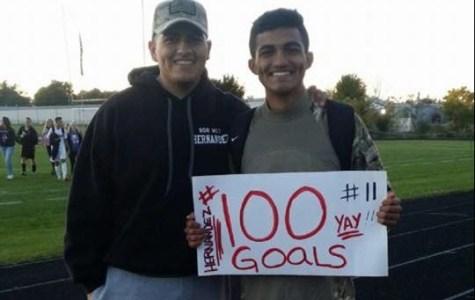100th Goal During the Centennial Celebration