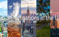 Top Five Destinations In The U.S