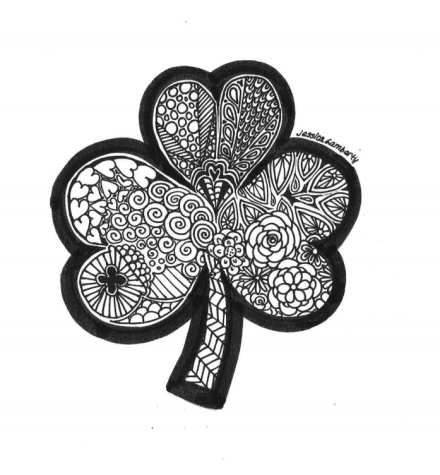 Weekly Coloring Page: St. Patrick's Day Doodles