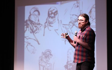 Writer's Week Day Three: Daniel Johnson