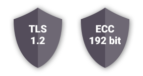 Sera4 Digital Security - TLS 1.2 and ECC 192 bit