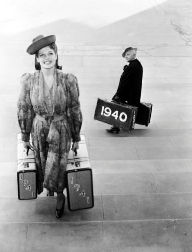 Rita Hayworth bids adieu to 1940.
