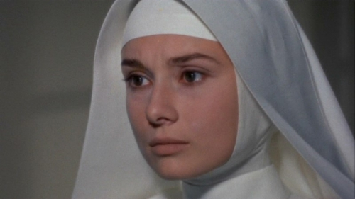 Audrey Hepburn as Sister Luke, The Nun's Story, 1959.