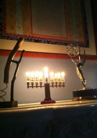 Karen and I wish all our friends and relatives a lovely and meaningful last day of Chanukah.
