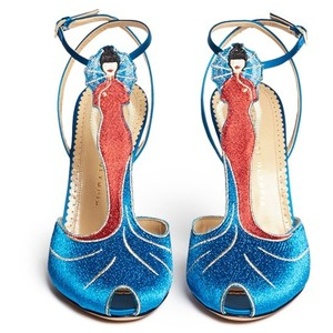 "Freud asked, ""What do women want?"" Poor clueless Siggy. Women want shoes. And we recommend the Anna May Wong by Charlotte Olympia."