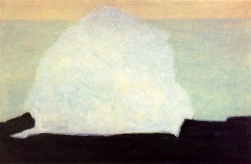 Milton Avery, White Wave, 1954.