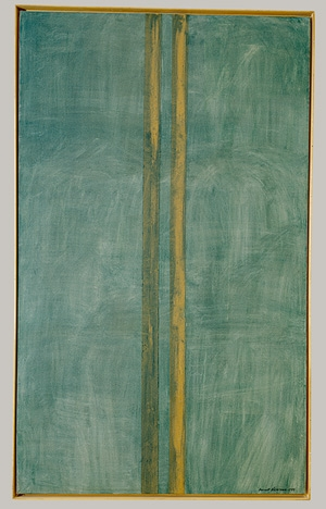 Barnett Newman, Concord, 1949 Oil and masking tape on canvas, 228 x 136.2 cm