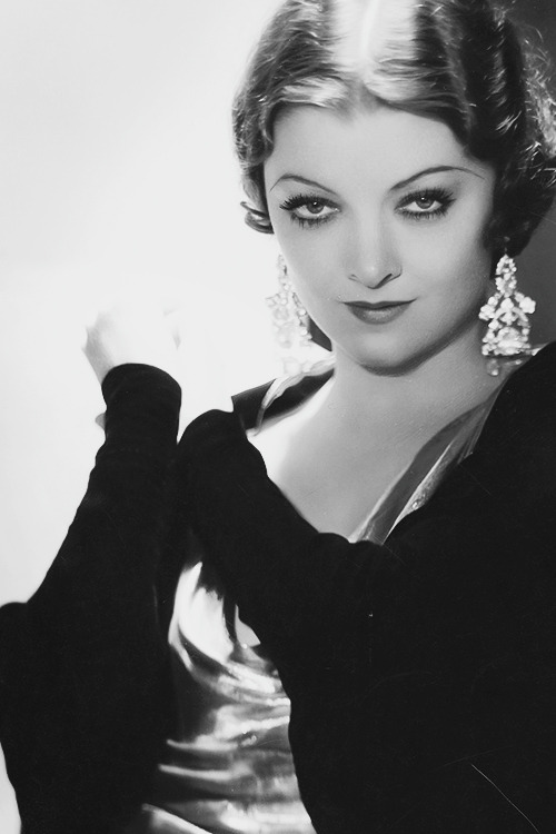 How Many Women Do We Know Who Were Continually Kissed By Clark Gable William Powell Cary Grant Spencer Tracy And Fredric March Only One Myrna Loy