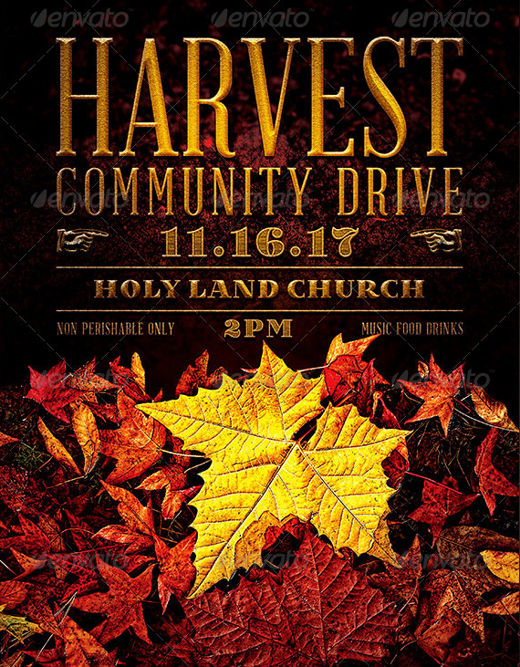 Harvest_Community_Drive_Church_FLYER_Template_PREVIEW