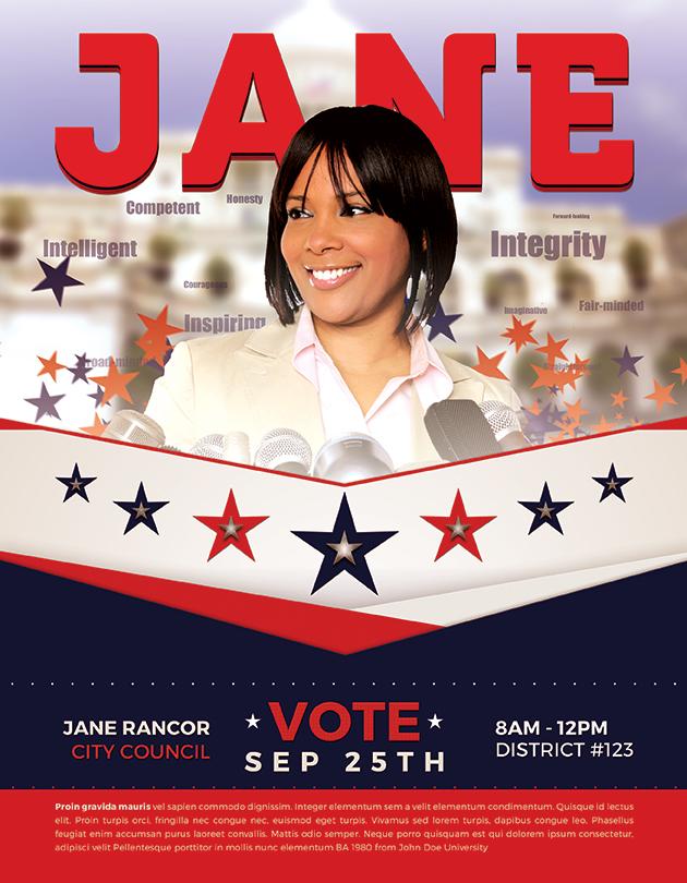 Political Flyer Vote-Jane2-Flyer-Full-Page-copy
