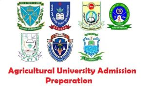 Agricultural University Admission Preparation 2021