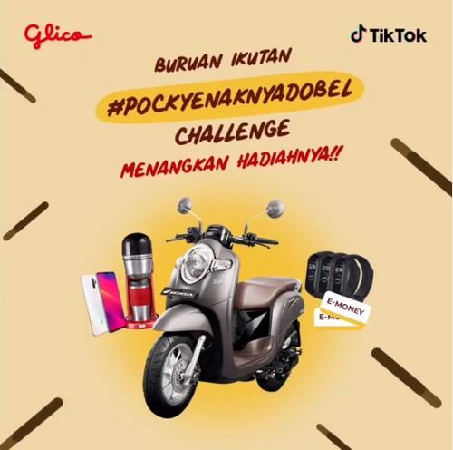 Lomba Video TikTok Pocky Enakny Dobel Grandprize Motor Honda Scoopy