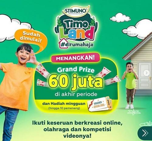 Kontes Video Timo Land Di Rumah Aja Berhadiah Utama Rp 60 Juta