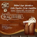 Coffee Signature Drink Competition Festival Kopi Nusantara 2020