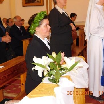 Srebrny jubileusz s. Anny