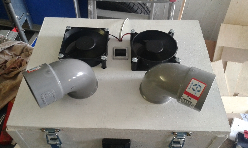 Ralisation Fabrication Dun Rafraichisseur 12 Volts Pour