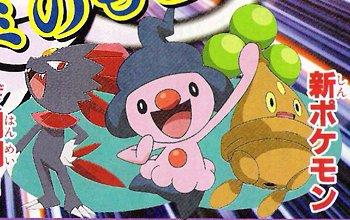 Three New Pokémon