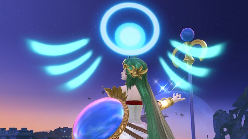 Super Smash Bros For Nintendo 3DS Amp Wii U Characters Palutena