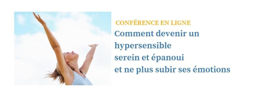 Conférence hypersensibilité