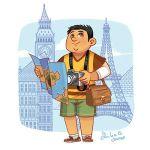Touriste par Shiilia & Ed. Jocatop