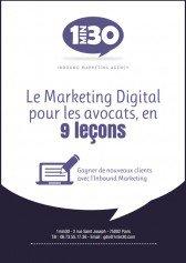 Livre blanc 1MIN30, marketing digital pour les avocats