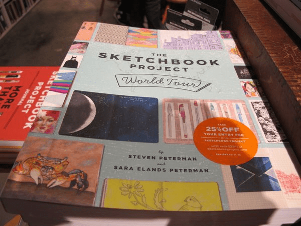 Sketchbook Project, le livre