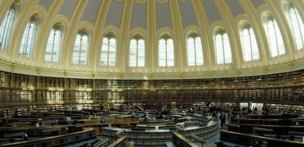 Round reading Room British Musuem Credit