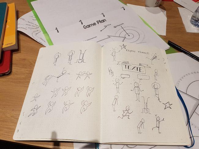 Carnet de sketchnotes de Philippe Boukobza