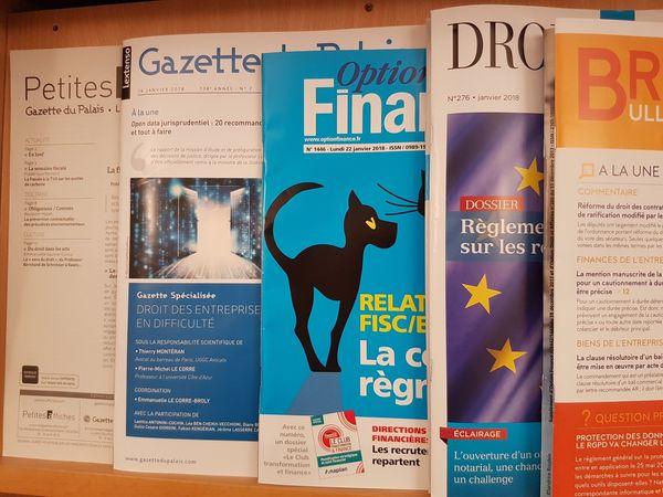 Sommaires de revues juridiques