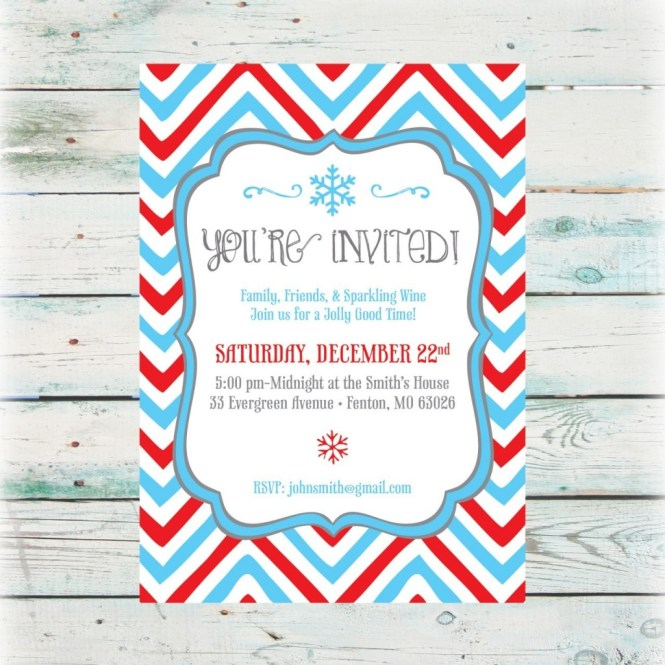 christmas hat party invitation Cogimbous – Free Printable Holiday Party Invitation Templates