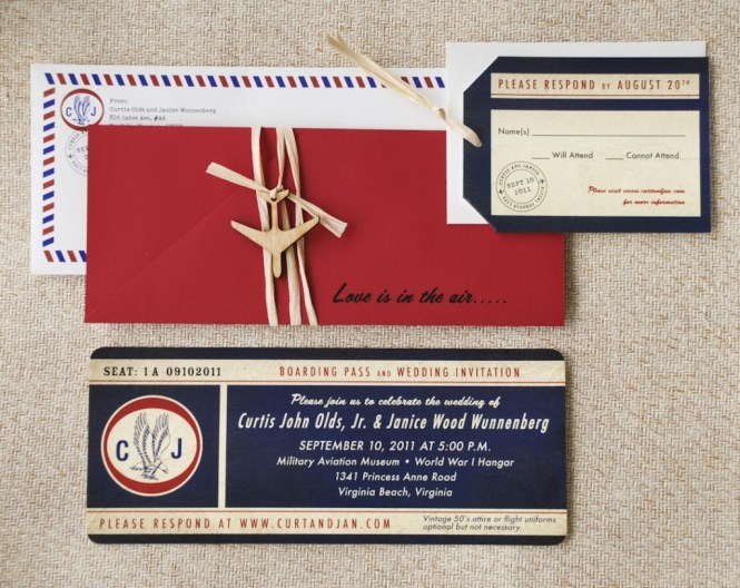 Airline Ticket Wedding Invitation Template Wedding Invitation – Plane Ticket Invitation Template