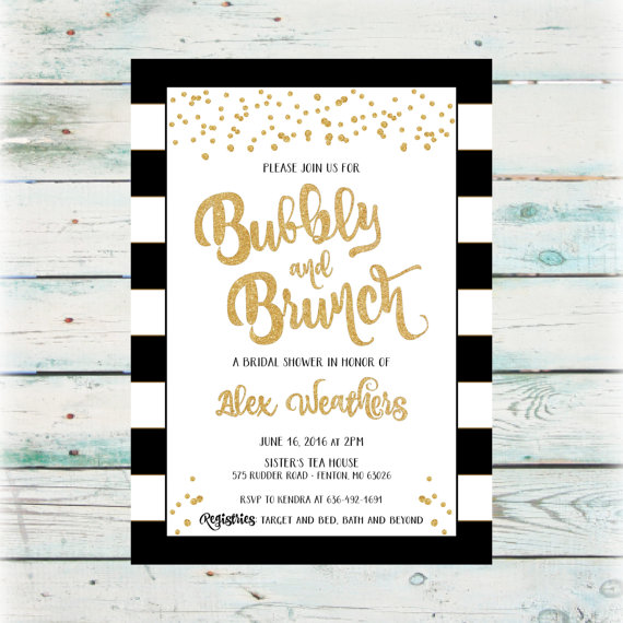 Bubbly And Brunch Bridal Shower