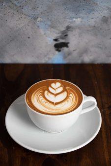 cafe de especialidad cappuccino