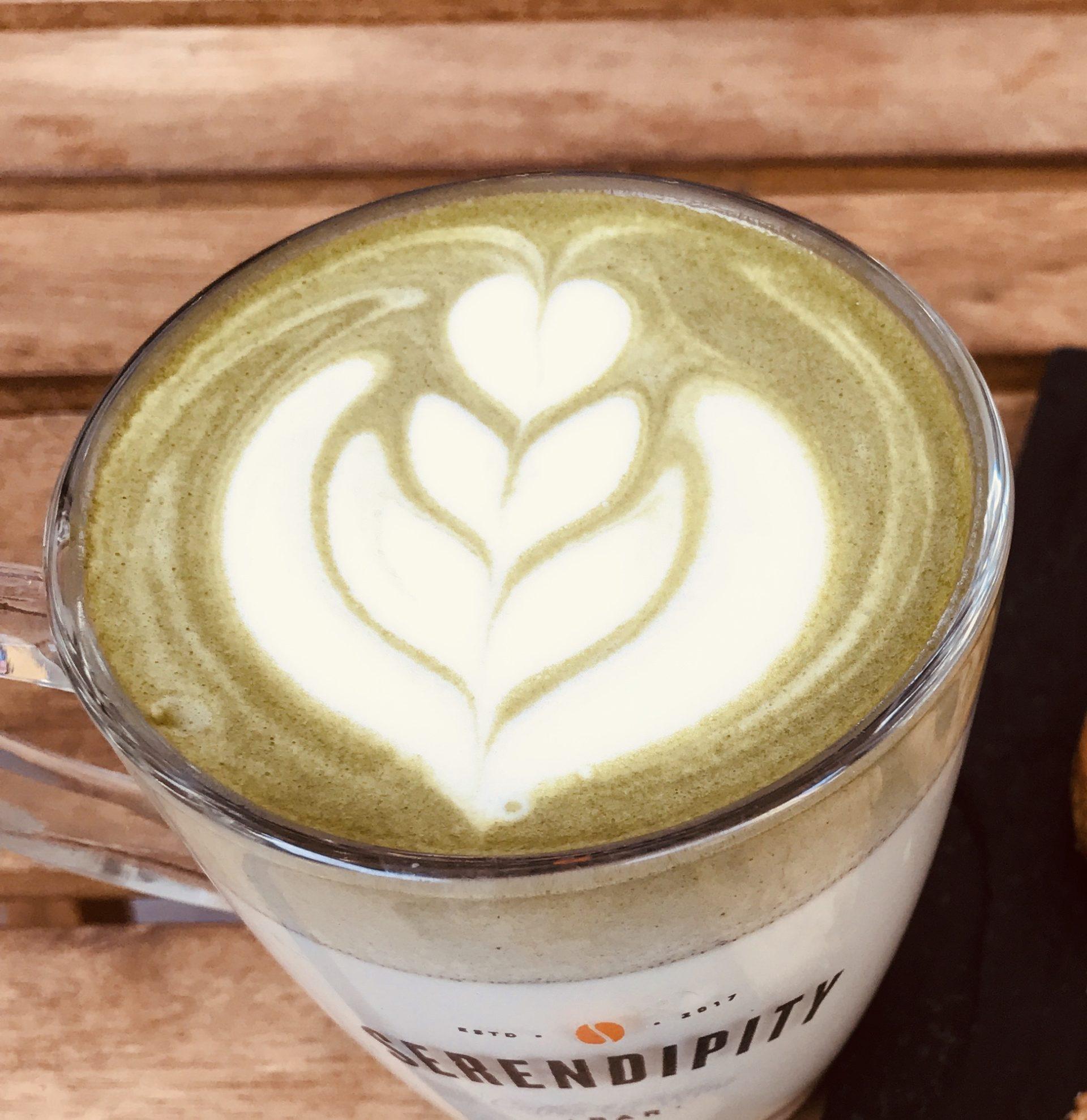 matcha latte - cafe de especialidad palermo