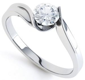 Twist Engagement Rings 10 Top Twist Diamond Engagement Rings