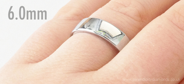 Wedding Rings Popular Wedding Ring Widths Shown On The