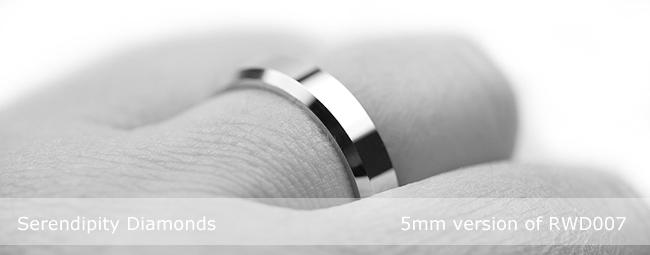 Bevelled Wedding Rings Styles In Focus
