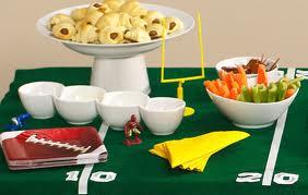Super Bowl Table