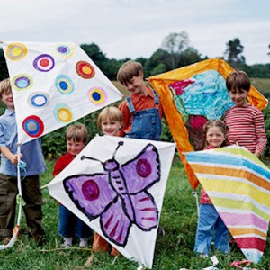 Kite crafts kids