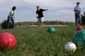 Bocce Ball Grass