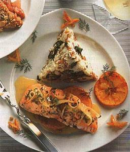 Salmon with Herbs & Citrus