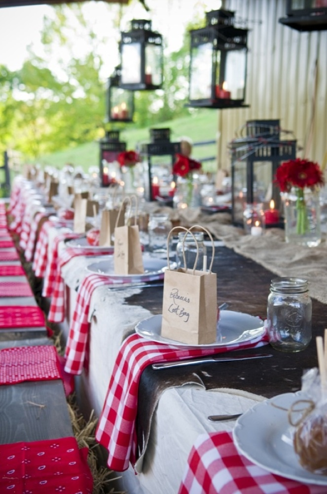 favorite bridal shower themes 3 rustic wild west