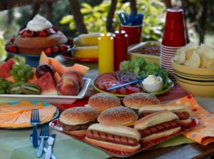 Picnic foods
