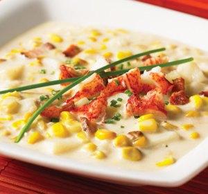 Corn Lobster Soup