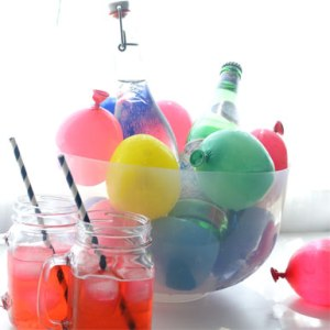 water-balloon drink bucket
