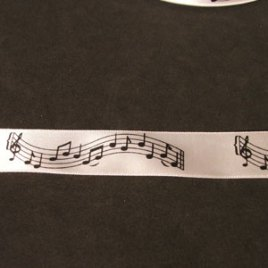 Musical Notes 20mm width